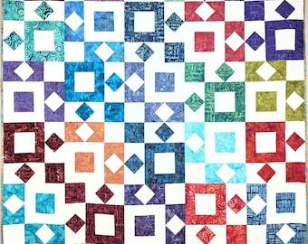 Square Stones PAPER Pattern (PBQ #108)
