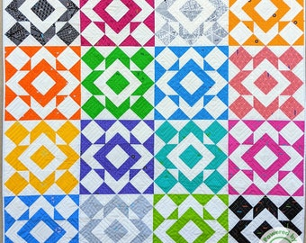 Color Pop PDF Pattern (PBQ #127)
