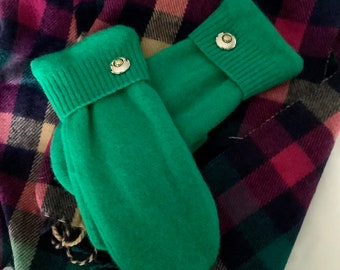 Mittens - Recycled in Vermont - Who Doesn't Love Bright?!