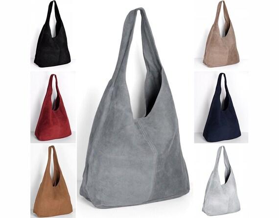 6156f457097a Ledertasche Handtasche Shopper Tasche schwarz grau braun   Etsy