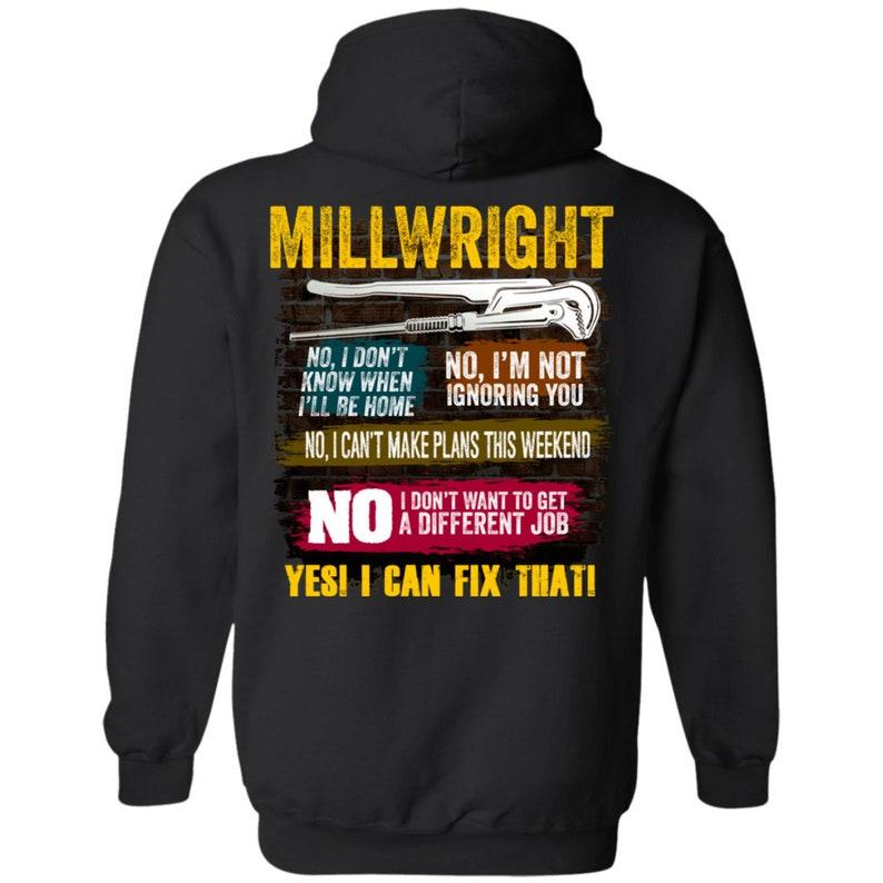132d22dd1 Millwright Shirt Millwright Hoodie Millwright Gifts Union   Etsy