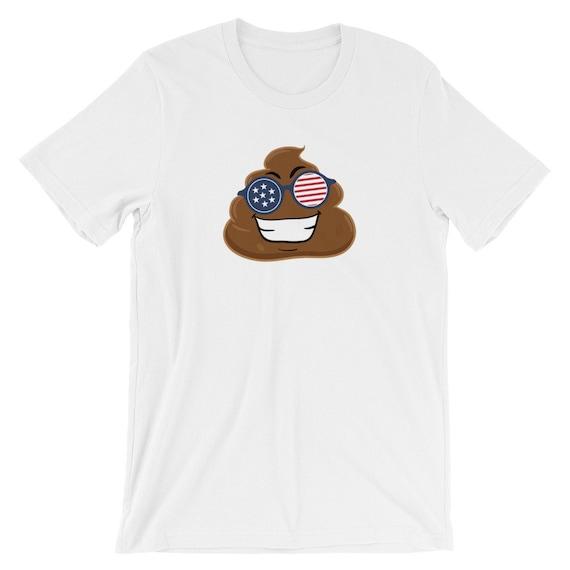Poop Emoji Shirt Funny July 4th Shirts 4th Of July Shirt