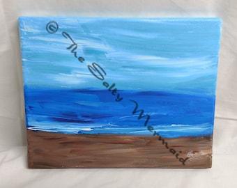 8 x 10 Abstract Beach Landscape
