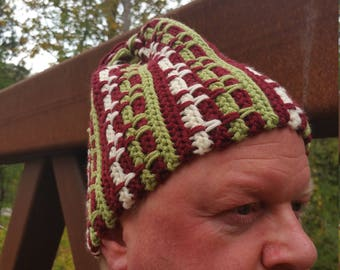 Burgundy-ish Touque, Eh?!
