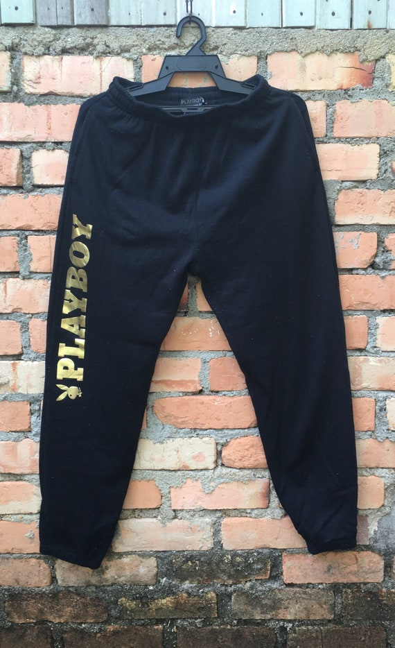 Playboy Bunny Jogger Pant Medium Size