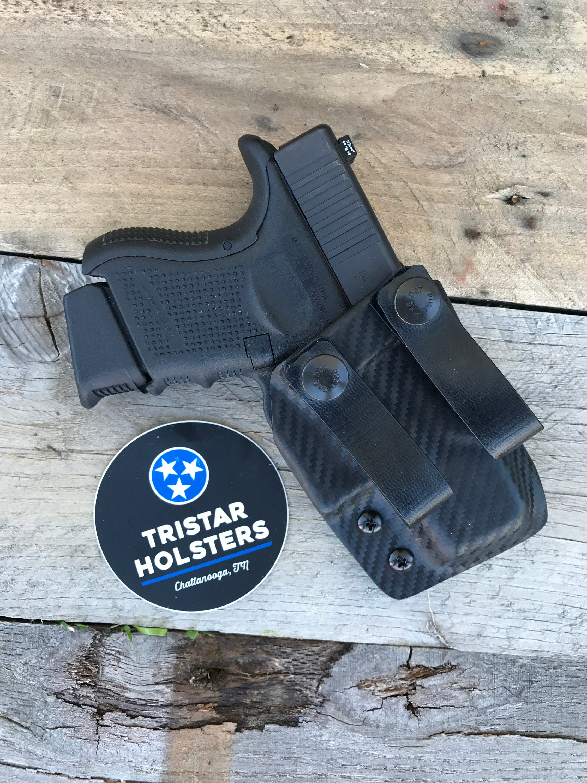 Kydex Glock 26/27/33 in den Bund 10 Farben erhältlich