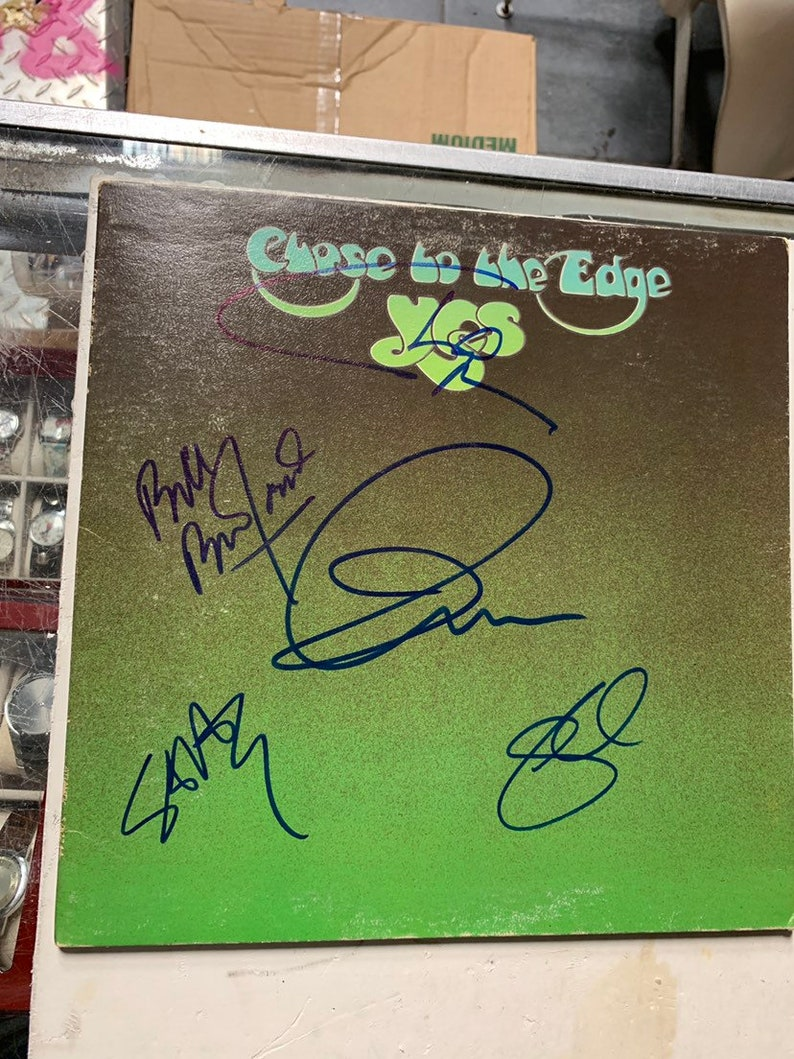 Yes Close To The Edge Record Album 5x Autographed by Jon | Etsy