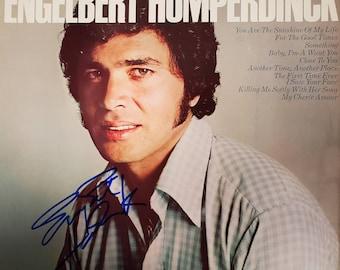 The Ultimate Engelbert Humperdinck Record Album Hand Signed Autographed by Engelbert Humperdinck w/ LOA