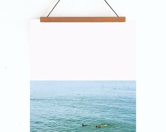 The Swim fine art print // 8x10 wall art // summer art print // ocean art work // coastal photography