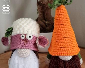 Easter Lamb gnome doll, Crochet lamb gnome, amigurumi lamb, Happy Easter Lamb, Carrot Gnome plushie, Handmade, Crochet Lamb & Carrot Gnome