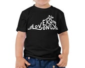 Kids Clothes. Virginia Tee Shirt. Virginia is for Lovers. Toddler Short Sleeve Tee.