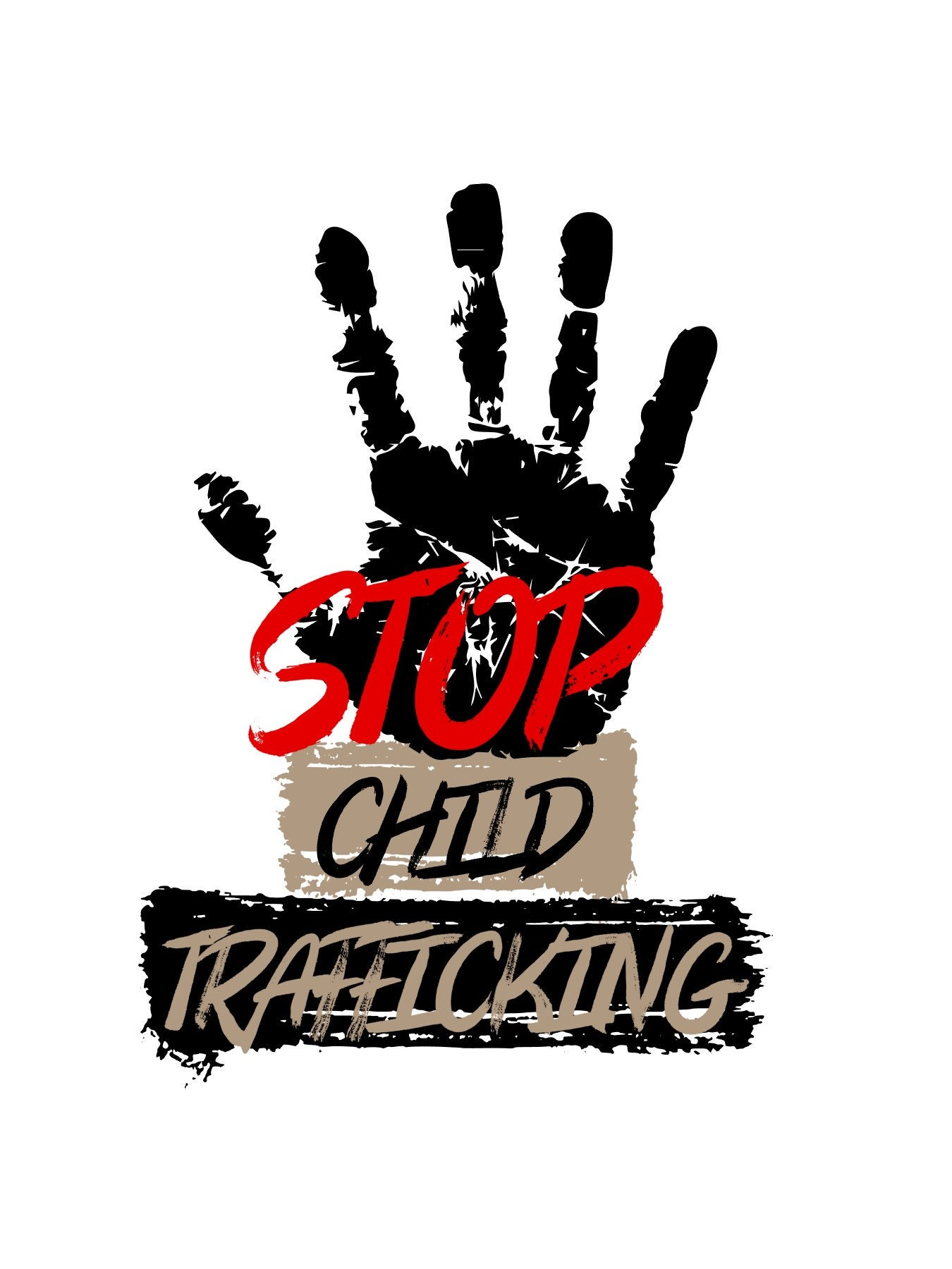 Instant Download Machine Embroidery Design Save Our Children End Sex Trafficking