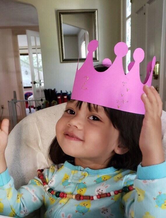 Papier Krone Geburtstagskrone Weihnachten Krone Krone des | Etsy