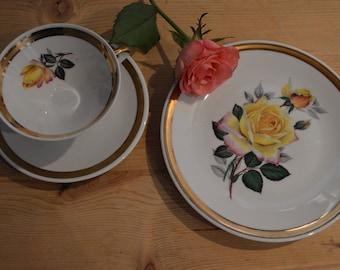 Vintage Tea Time Set - 3 pieces Winterling Bavaria porcelain set-