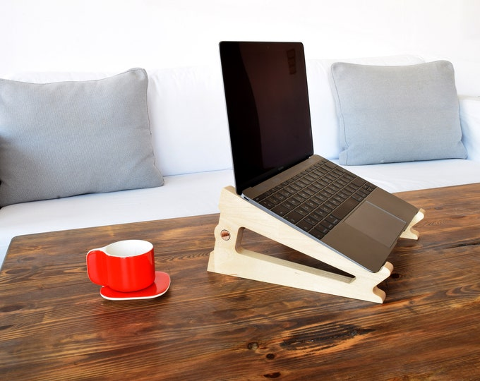 PUKA Birch laptop stand