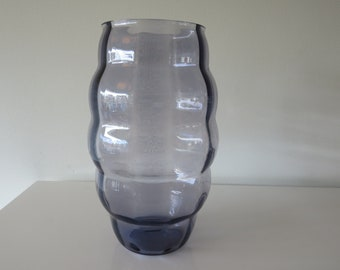 ART Deco vase purple/Amethyst 30s Vintage Maastricht/Leerdam/The Netherlands.