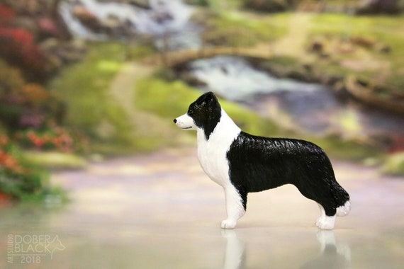 Dog Show Ring Number Clip Pin Breed Collie Rough