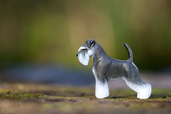 Custom Dog Magnet,Custom Dog Gifts,Schnauzer Owner Decor Gifts,Schnauzer Magnet,Personalized Dog Magnet,Unique dog Decor,Pet Loss Support
