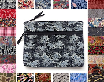 53dbc7a7c Custom Laptop Sleeve to Measure, 150+ fabric options, Japanese, Liberty,  Tropical, floral, paisley, etc. - Cover Notebook tablet