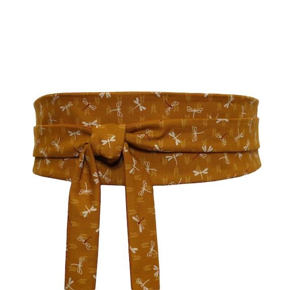 7496c80733fb Reversible Coton Haute Couture   Tissu Japonais Ceinture Obi   Etsy