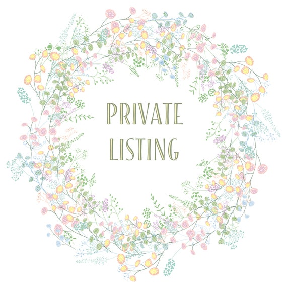 Private Listing for Samantha