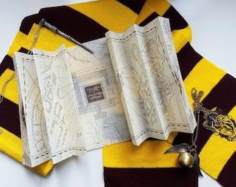 Harry Potter Marauder's Map!!