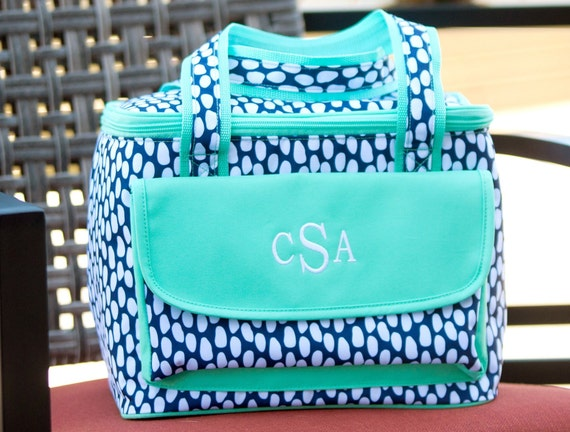 e4c7d4acff8 Tide Pool Lunch BoxSoft Cooler Monogrammed Lunch