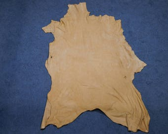 Commercial Brain Tanned Elk Leather (1302-20-G05)