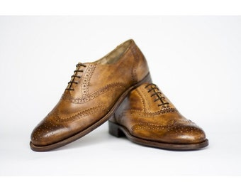 Mens Oxford shoes-Mens shoes-Handmade Shoes- Leather shoes- custom shoes-men shoes-brown-mens oxford-shoes-mens brogues-wingtips-brown shoes