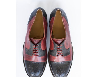 Shoes Men-Handmade shoes- Derby shoes-custom shoes-Leather derby shoes-men shoes-oxford shoes-brogues-mens brogues-womens shoes-captoe-shoes