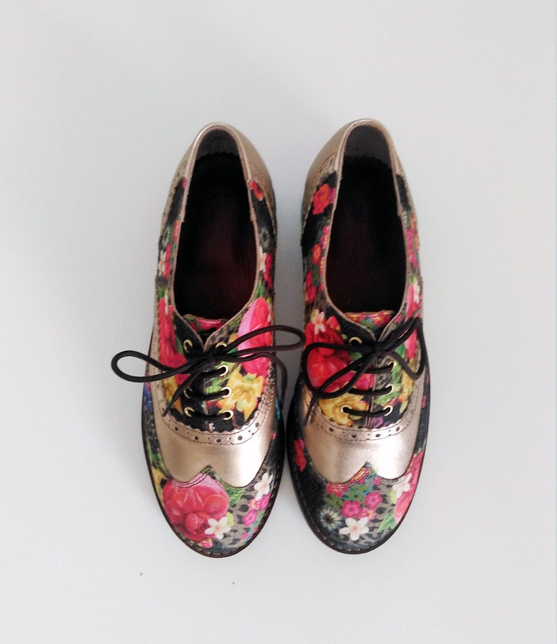 e9ded9a484952 Oxford shoes-Womens Oxford Shoes- flat shoes-custom shoes-oxford shoes  women-handmade shoes-oxford shoes women-leather shoes-floral shoes