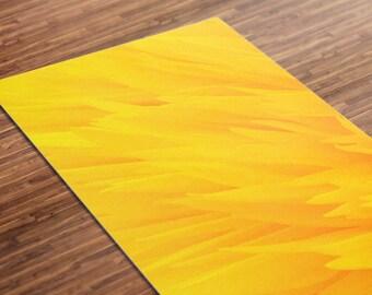 purple haze gedruckt yoga matte dicke 5 mm 24 x 72 pilates. Black Bedroom Furniture Sets. Home Design Ideas