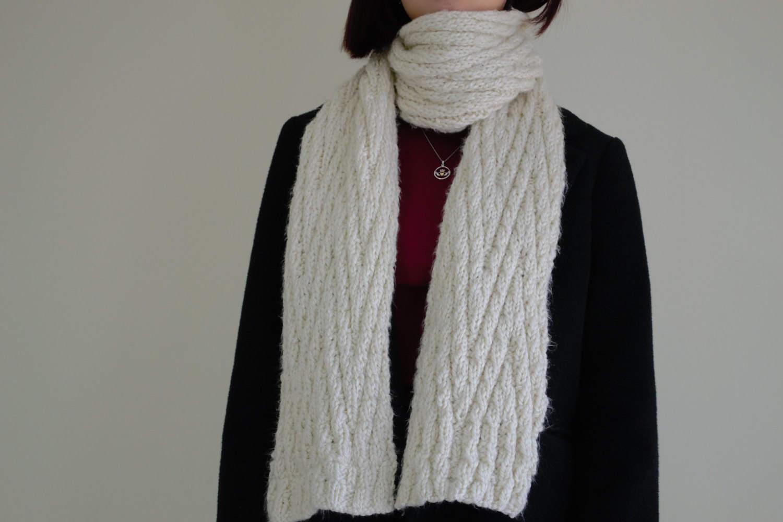 Knitting Pattern, Chevron Pattern Scarf, Knitting Pattern, Knitting ...