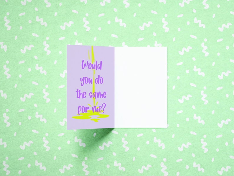 Love Card Cute and Funny Jellyfish Greeting Card