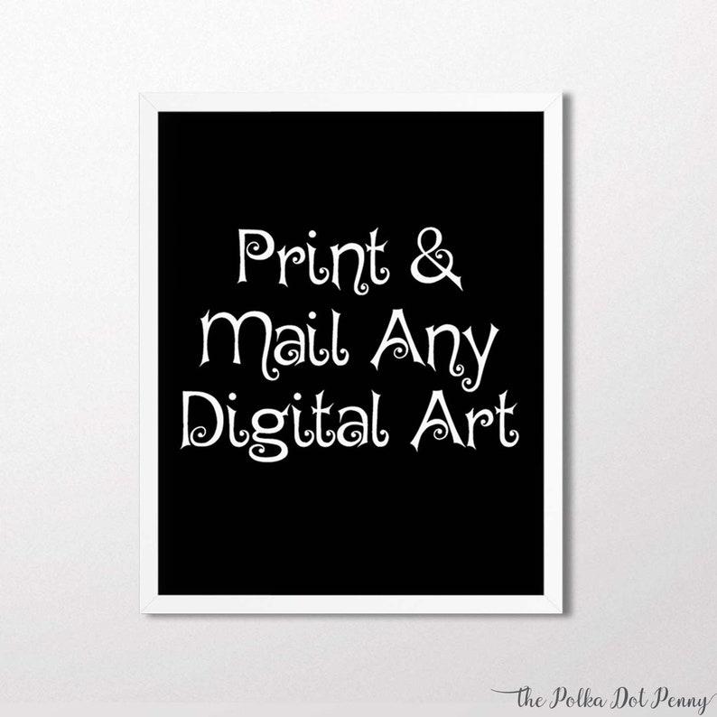 PRINTING SERVICE for Digital Art, Printed Art, Art Printing, Art Printed,  Printing Service, Framed Art Print, Printed Digital Art