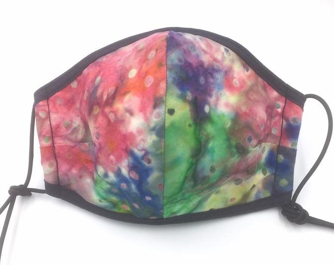 Batik Cotton Face Mask, Cotton Face Mask, Dust Shield, Washable Face Mask.