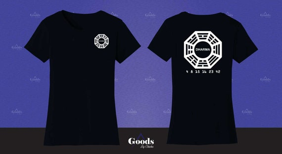 Lost Tv Show Dharma Initiative Printable Decal Etsy