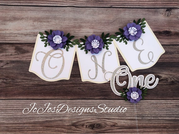 boho party smash cake Paper flowers boho birthday photo backdrop first birthday high chair banner cake topper