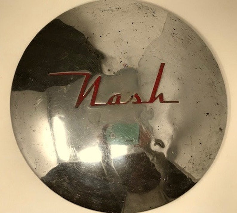 1949 1950 Nash Dog Dish Hubcap Wheel Cover Ambassador Etsy