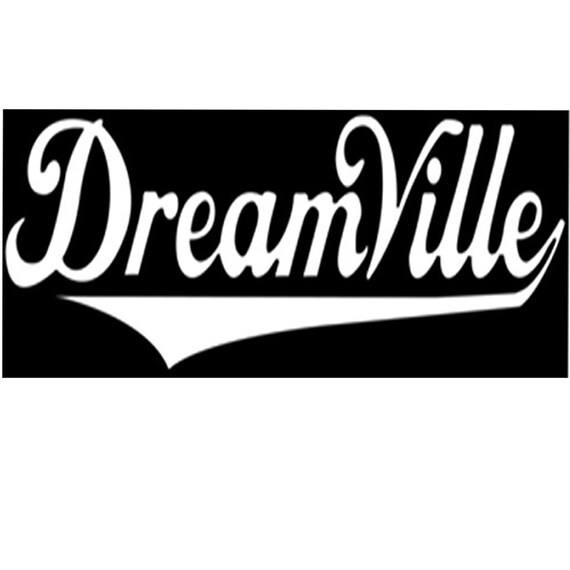 "Dreamville Decal sticker 3/"""
