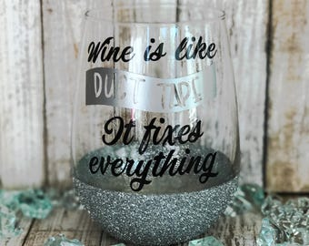 Wine Glass Personalized, Wine Glasses Personalized, Personalized Wine Gifts, Fun Wine Glass, WINOS, Stemless Wine Glass, Funny Wine Sayings