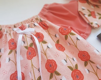 3 PCs scalable dress 1-4 years