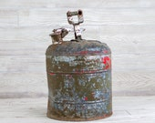 Vintage Army Gas Can