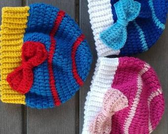 Princess Inspired Crochet Beanie