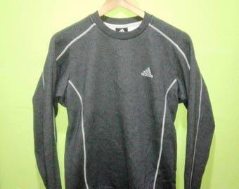Vintage ADIDAS Sweatshirt Frauen Adidas Sportswear Crewneck Pullover Adidas  Mädchen Pullover f07a4ffe55