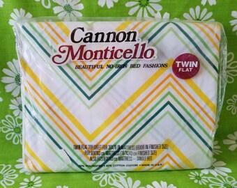 Canon Monticello Twin Flat sheet