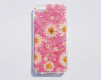 competitive price 37a63 e8cd7 Pressed flower case   Etsy