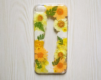 Handmade Pressed Flower phone case,dried flower case, iPhone 6 6s 7 8 Plus case,Samsung galaxy S7 S8 S9 note8 case,LG G7 case,iPhone x case