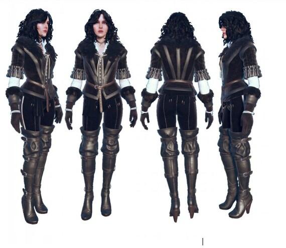 Cynthia Witcher cosplay costume stuff shoes skirt jacket OIRaPhj
