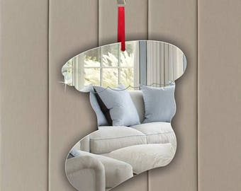 Room Decoration Personalised Gift Tag Children Door Personalised Birthday PRESENT- Star Acrylic Mirror Ornament -Hanging Decoration Nursery